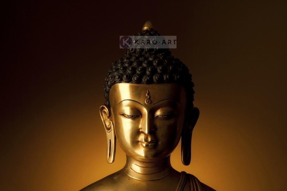 Schilderij - Kalme Boeddha