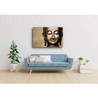 Schilderij - Bronzen Boeddha