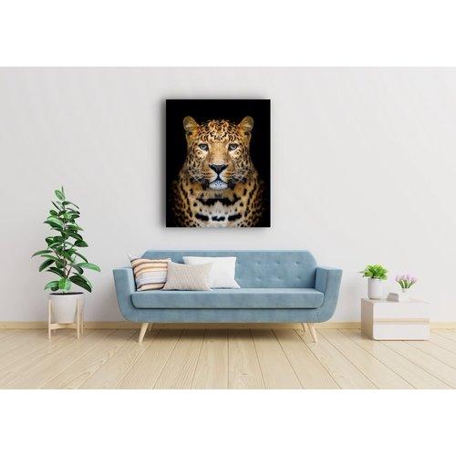 Karo-art Afbeelding op acrylglas - Luipaard