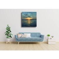 Karo-art Afbeelding op acrylglas - Zonsondergang