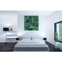Karo-art Afbeelding op acrylglas - Jungle Bladerdek