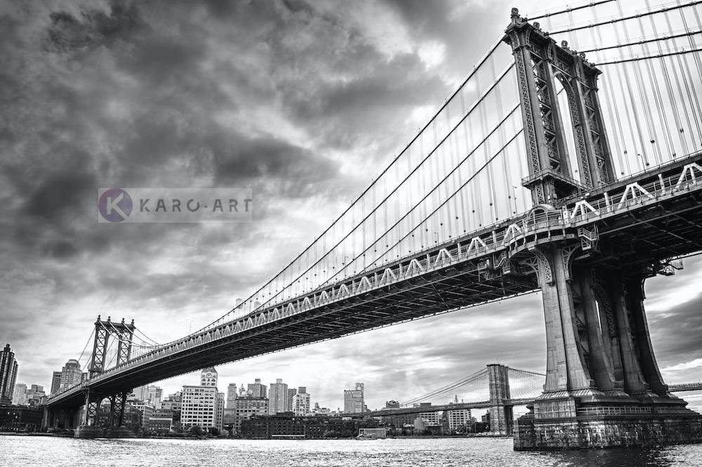 Schilderij - Manhattan Bridge