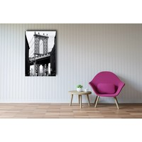 Karo-art Afbeelding op acrylglas - Manhattan Bridge II