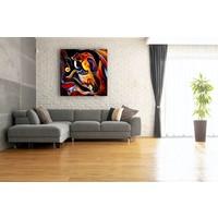 Karo-art Afbeelding op acrylglas - Abstract Muziek