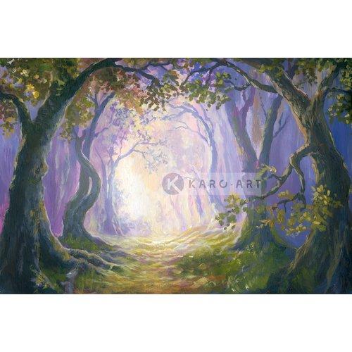 Karo-art Afbeelding op acrylglas - Sprookjesbos