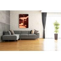 Karo-art Afbeelding op acrylglas  - Vallend Zand