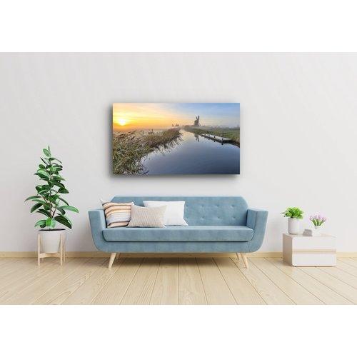 Karo-art Afbeelding op acrylglas - Nederlandse ochtend