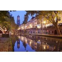 Karo-art Schilderij - Utrecht skyline Domtoren