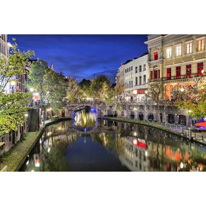 Karo-art Schilderij - Utrecht historisch centrum
