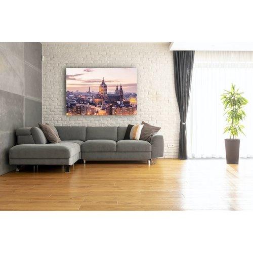 Karo-art Schilderij - Amsterdam, het centrum