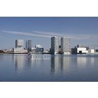 Karo-art Schilderij - Almere, skyline