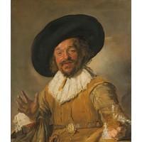 Frans hals, De vrolijke drinker  80x100cm, Rijksmuseum, premium print, print op canvas, oude meester
