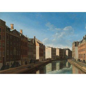Gerrit Adriaensz Berckheyde, gezicht op de gouden bocht, Herengracht, Amsterdam