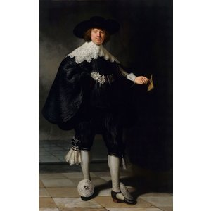 Rembrandt van Rijn - Marten Soolmans  60x90cm