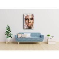 Karo-art Afbeelding op acrylglas - Abstracte vrouw II, print op acrylglas