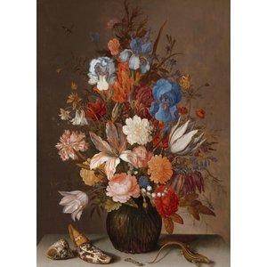 Balthasar van der Ast - Stilleven met bloemen 60x90cm