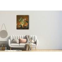 Jan van Huysum - Stilleven met fruit 60x90cm, Rijksmuseum, premium print, print op canvas