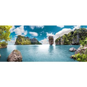 Karo-art Schilderij - Uitzicht Thailand