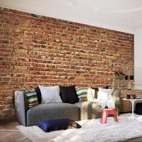 Fotobehang - Stenen muur , 350x245cm