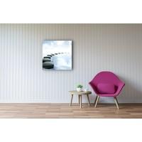 Karo-art Schilderij - Zen pad in water, Inspiratie