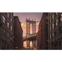 Karo-art Fotobehang- Manhattan Bridge, New York City, USA