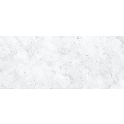 Karo-art Fotobehang- Marmer wit, klassiek