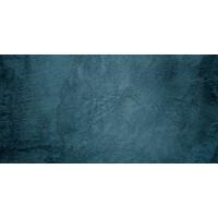 Karo-art Fotobehang - Donkerblauwe muur