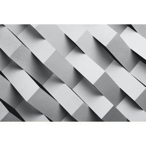 Karo-art Fotobehang - Geometrische stroken