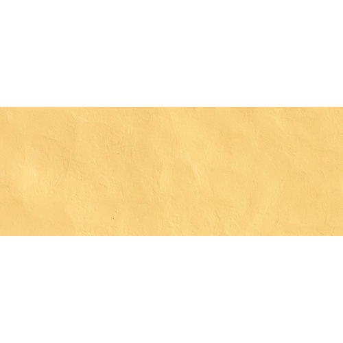 Karo-art Fotobehang - Gele muur