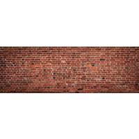 Karo-art Fotobehang - Grof bakstenen muur