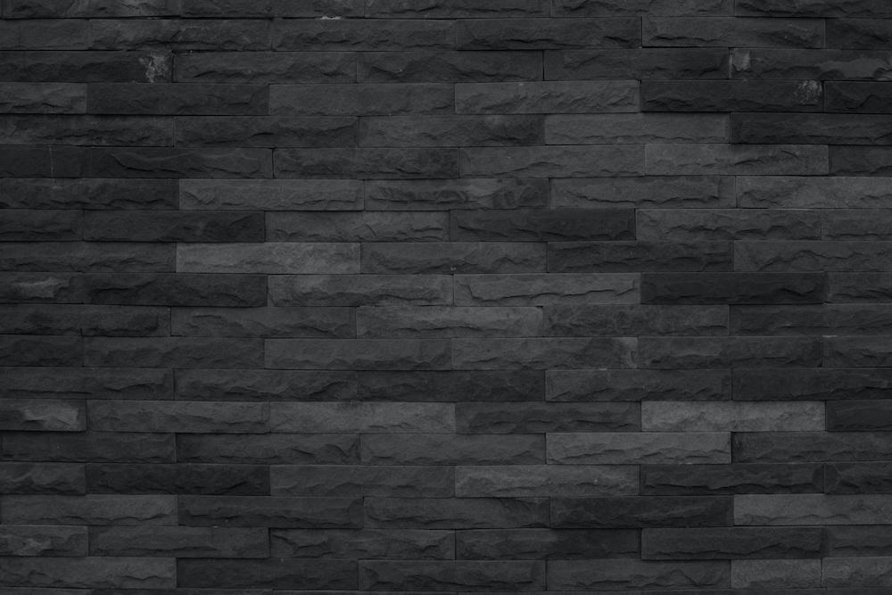 Karo-art Fotobehang - Grof stenen muur grijs