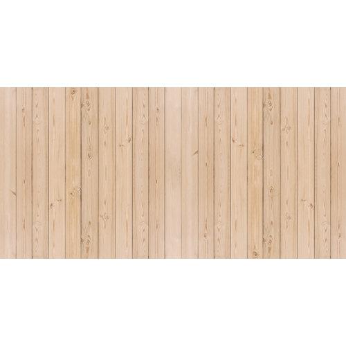 Karo-art Fotobehang - lichte planken
