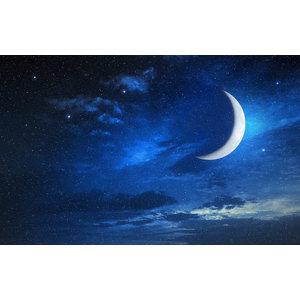 Karo-art Fotobehang - Maan en sterren