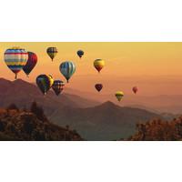 Karo-art Fotobehang - luchtballonnen
