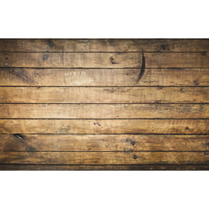 Karo-art Fotobehang - Oud houten muur