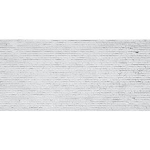 Karo-art Fotobehang - Witte bakstenen