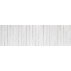 Karo-art Fotobehang - Witte planken