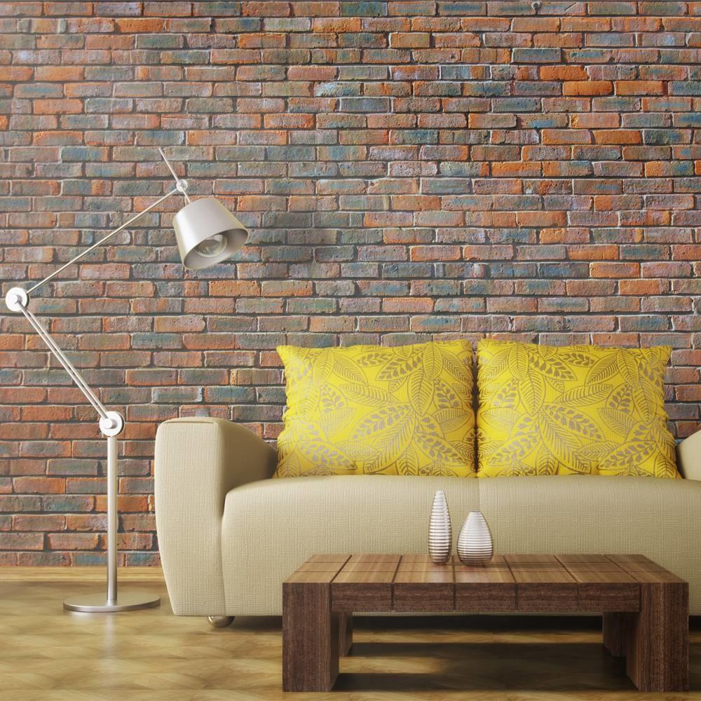 -32% SALE   Fotobehang - Bakstenen muur , 400x309cm