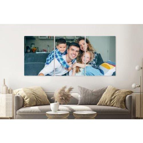 Karo-art Eigen foto op plexiglas als 2, 3, 4 of 5 luik  (NIEUW)