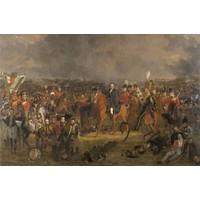 Karo-art Jan Willem Pieneman - De Slag bij Waterloo, 120x80cm  Rijksmuseum
