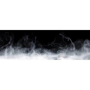 Karo-art Schilderij - Mysterie in het zwart en wit, panorama, 2 maten