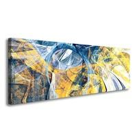 Schilderij - Digitale kunst,   120x40cm.  Incl. ophang haakjes