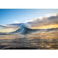 Karo-art Schilderij - Prachtige Surf Golf, 2 maten, premium print
