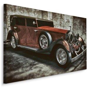 Schilderij -  Prachtige Oldtimer , print op canvas, Premium print