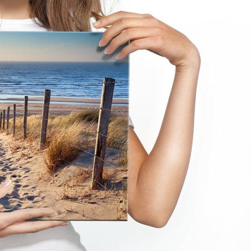 Schilderij - Pad naar de Noordzee, 4 maten, premium print, scherp geprijsd