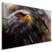 Schilderij Arend (print op canvas), 4 maten, bruin, premium print