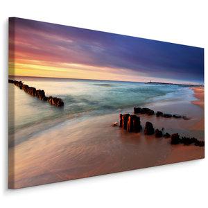Schilderij - Baltische Zee, 4 maten, wanddecoratie, hoge kwaliteit scherpe prijs