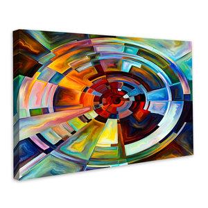 Karo-art Schilderij - Kracht van het leven, multikleur, eyecatcher