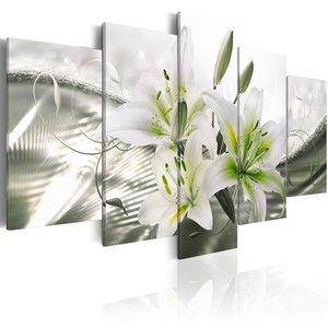 Schilderij - Sensuele subtiliteit, 5luik , 100x50cm