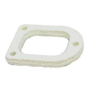 Insulating flange manifold intake manifold